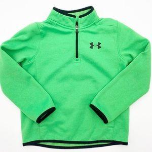 UNDER ARMOUR Sweatshirt Coldgear Green Youth XS